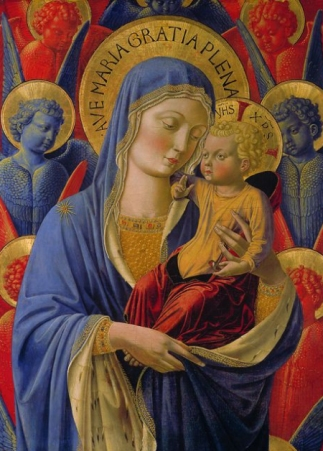 It is claimed that, up until the Renaissance, religious paintings of the Madonna and Child almost always showed the Child being held on the more traditional left side, but that this was deliberately changed during the Renaissance